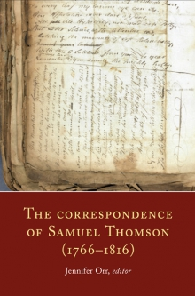 The correspondence of Samuel Thomson (1766–1816)