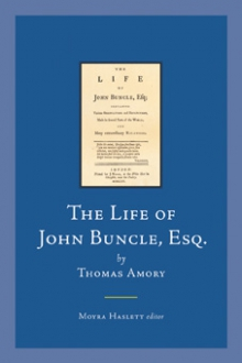 The life of John Buncle, Esq.