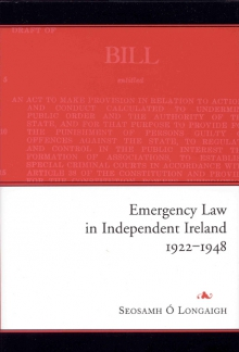 Emergency law in independent Ireland, 1922–1948