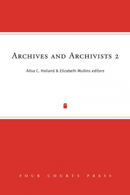 Archives and archivists 2