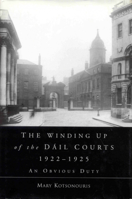 The winding up of the Dáil Courts, 1922–1925