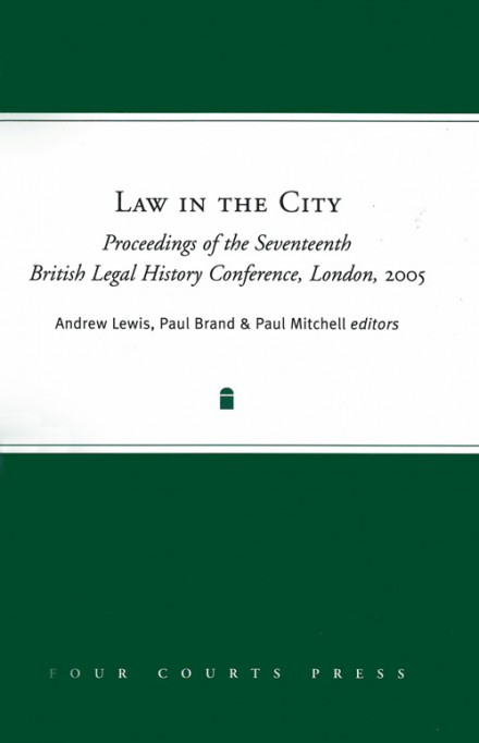Law in the city
