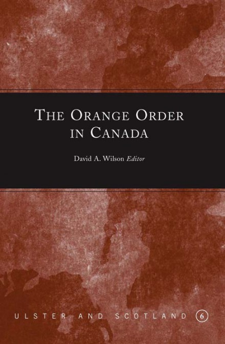 The Orange Order in Canada