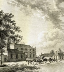 Entrance front of the Ranger's Lodge, c.1783