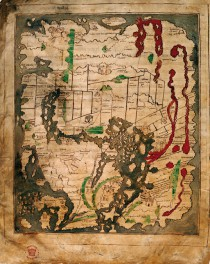 11th-century Anglo-Saxon Cotton world map