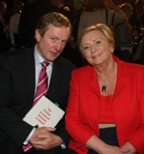 An Taoiseach Enda Kenny & Minister for Justice Frances Fitzgerald at book's launch