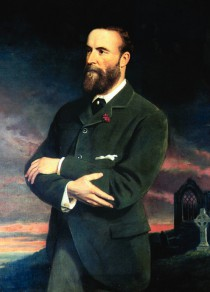 Charles Stuart Parnell (painted by Sir Thomas Alfred Jones, 1892)