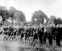 Dungarvan Cycle Corps, National Volunteers, 1914