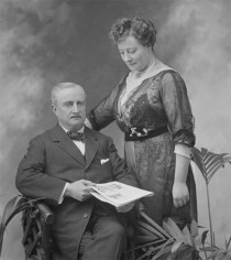 John Redmond and his second wife, Ada